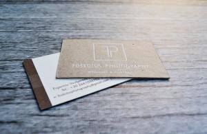 κάρτες λαμιναριστές διπλές